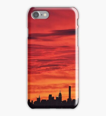 New York City Dusk  iPhone Case/Skin