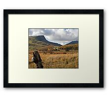 Nantlle Ridge Framed Print