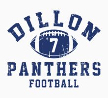 Dillon Panthers Football - 7 Gray Kids Clothes
