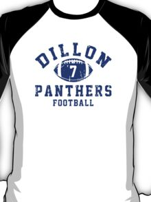 Dillon Panthers Football - 7 Gray T-Shirt