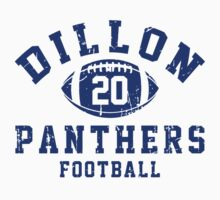 Dillon Panthers Football - 20 Gray Kids Clothes
