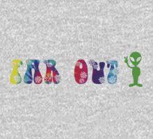 Far Out Alien One Piece - Short Sleeve