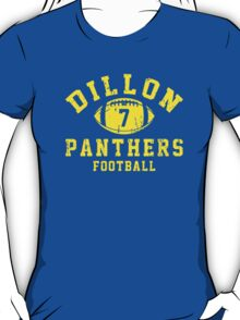 Dillon Panthers Football - 7 Blue T-Shirt