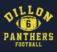 Dillon Panthers Football - 6 Blue Kids Clothes