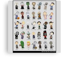 charlie brown horror peanuts movie Canvas Print