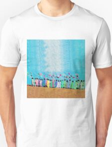 People with Balloons T-Shirt