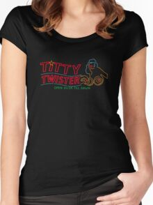 Titty Twister Women's Fitted Scoop T-Shirt