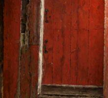 The Red Mill Door Sticker