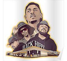 Black Hippy design  Poster