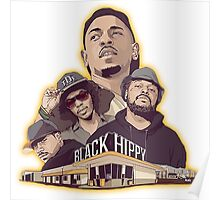 Black Hippy design  Poster