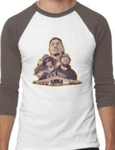 Black Hippy design  Men's Baseball ¾ T-Shirt