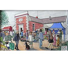 The Wallan Country Market Photographic Print
