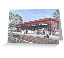 The Tallarook Railway Station Greeting Card