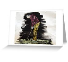 """""""Love Of The Game""""  by Carter L. Shepard Greeting Card"""