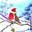 Christmas Bird by Linda Callaghan