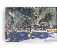 Paris on Collins St. Melbourne Canvas Print