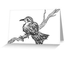 Ode to a Nightingale Greeting Card