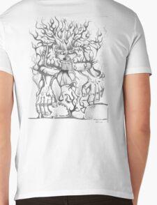 Wild Child Mens V-Neck T-Shirt