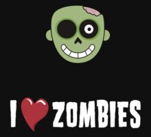 i love zombies by saviorum