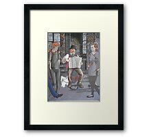 Colonial music in modern Melbourne Framed Print