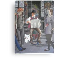 Colonial music in modern Melbourne Canvas Print