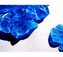 Blue Tidal Waves Photographic Print