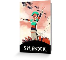 Year of Great Splendor Greeting Card