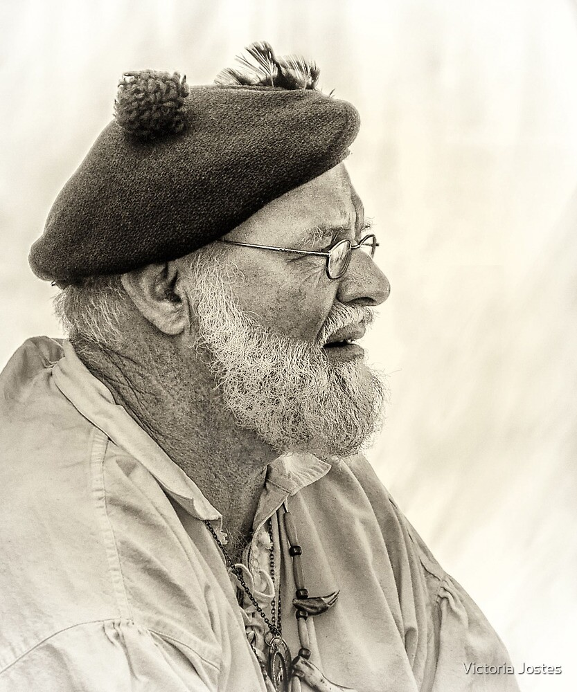 Man With A Tam by Victoria Jostes