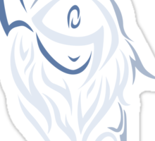 Tribal Absol Colored Sticker