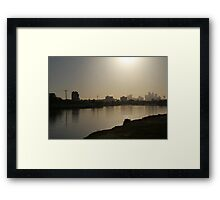 Rise of the west Framed Print