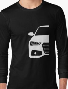 Simple German Sedan front end design Long Sleeve T-Shirt
