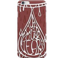 quit your tears iPhone Case/Skin
