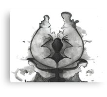 Ink Blot Bob Canvas Print