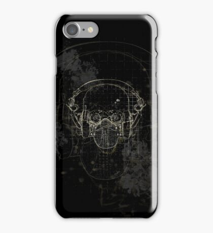 The Silence on Black iPhone Case/Skin