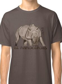 Rhino Ink and Brush Classic T-Shirt