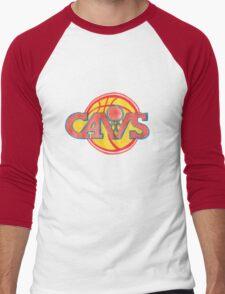 CAVALIERS hand-drawing  Men's Baseball ¾ T-Shirt