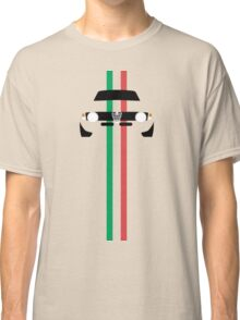 Simplistic Classic Italian coupe with verticle Italian stripes Classic T-Shirt