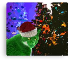 The Cat Who Peed on Christmas Canvas Print