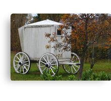 Bathing Cart Canvas Print