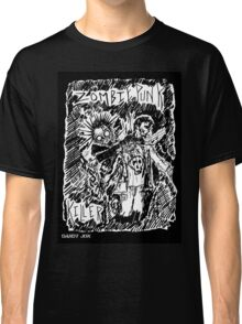 Zombie Punk Killer Classic T-Shirt