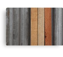 Hardwood on Metal Canvas Print