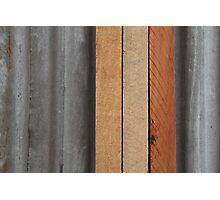 Hardwood on Metal Photographic Print