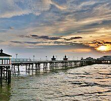 North Pier -Blackpool  by Lilian Marshall