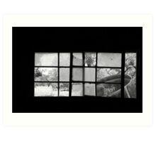 Looking Through Yesterdays Window Art Print