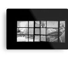 Looking Through Yesterdays Window Metal Print