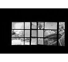 Looking Through Yesterdays Window Photographic Print