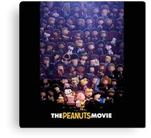 the peanuts movie Canvas Print