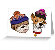 A DOGS LIFE Greeting Card