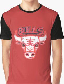 BULLS hand-drawing Graphic T-Shirt