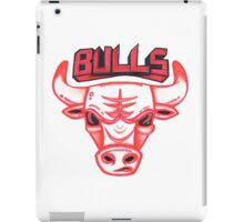 BULLS hand-drawing iPad Case/Skin